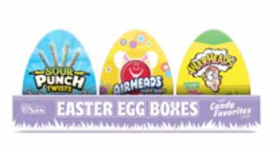Easter Egg Boxes of Candy