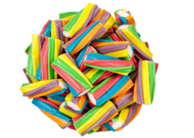 Unicorn Poop Rainbow Licorice