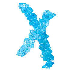 Blue Cotton Candy Rock Candy Strings