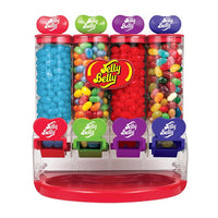 Jelly Bean 4 Tube Dispenser plus Beans