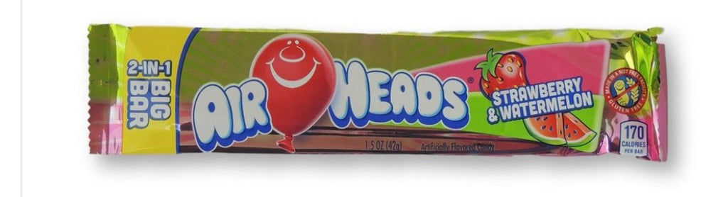 Airhead Big Bar- Strawberry/Watermelon