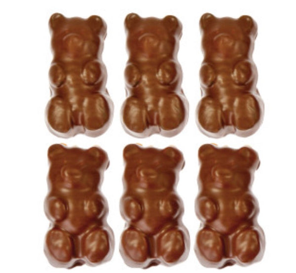 Chocolate Covered Gummy Grizzly Bear