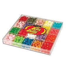 1 Pound Jelly Belly Acrylic Gift Box