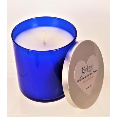 Kaiderma Kaiderma Natural Coconut Wax Candle Royal Blue
