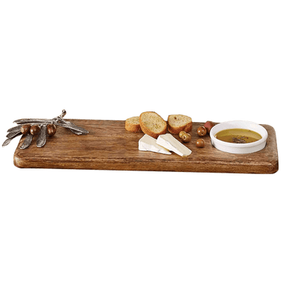 Cheese Boards Olive Wood Board Set Sienna