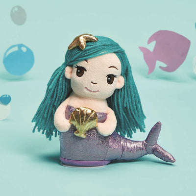 Kids Speak And Repeat Plush Mermaid Gray