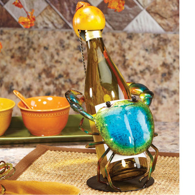 Wine Bottle Holders Blue Crab Wine Bottle Holder Dark Turquoise
