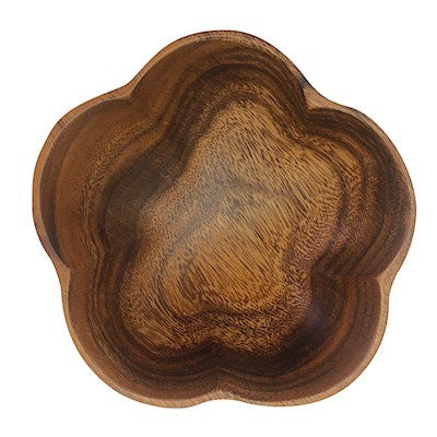 Decorative Bowls Small Bowl - Flower Wood Serveware Sienna