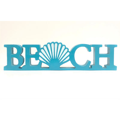 Beach Signs Beach Expression Sign Steel Blue
