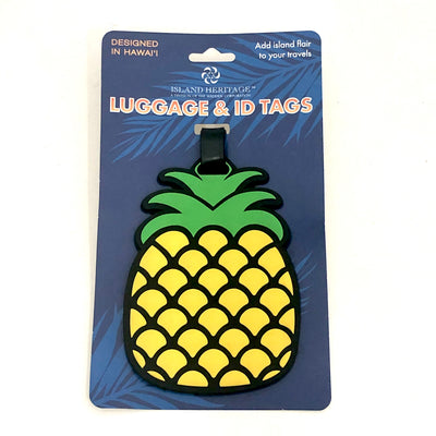Totes and Bags Pineapple Luggage Tag Dark Sea Green