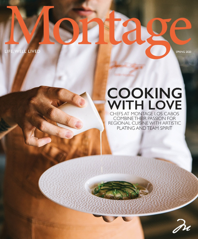 Montage Magazine Cover page