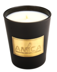 Private Label Candle painted Black Matte Finish