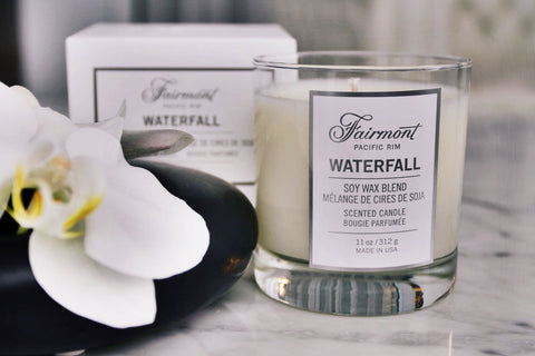 Private label candles for luxury hotels and spas