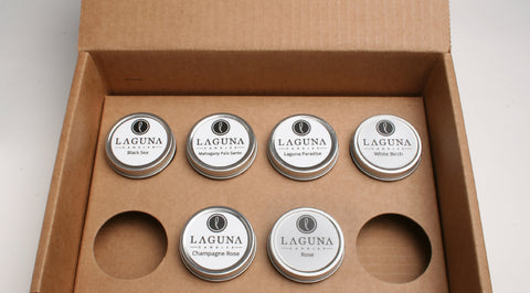 6 Plus Soy Candle Sample Fragrance Kit