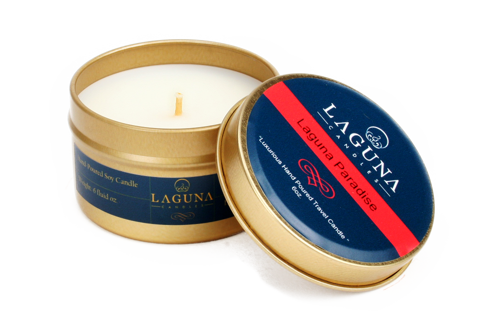 Coconut Travel Candle Laguna Paradise