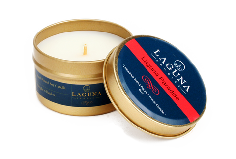 Laguna Paradise Soy Travel Candle