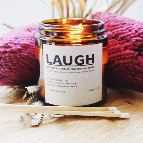 Laugh Candle