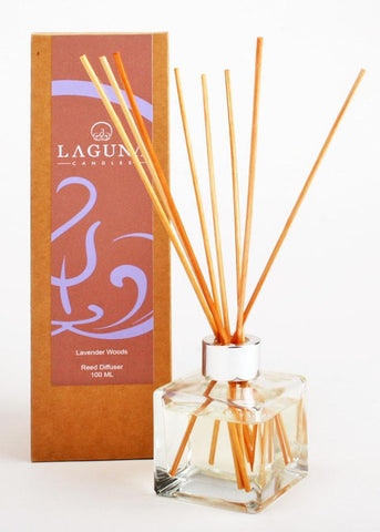 Essential Oil Reed Diffuser / Lavender Woods