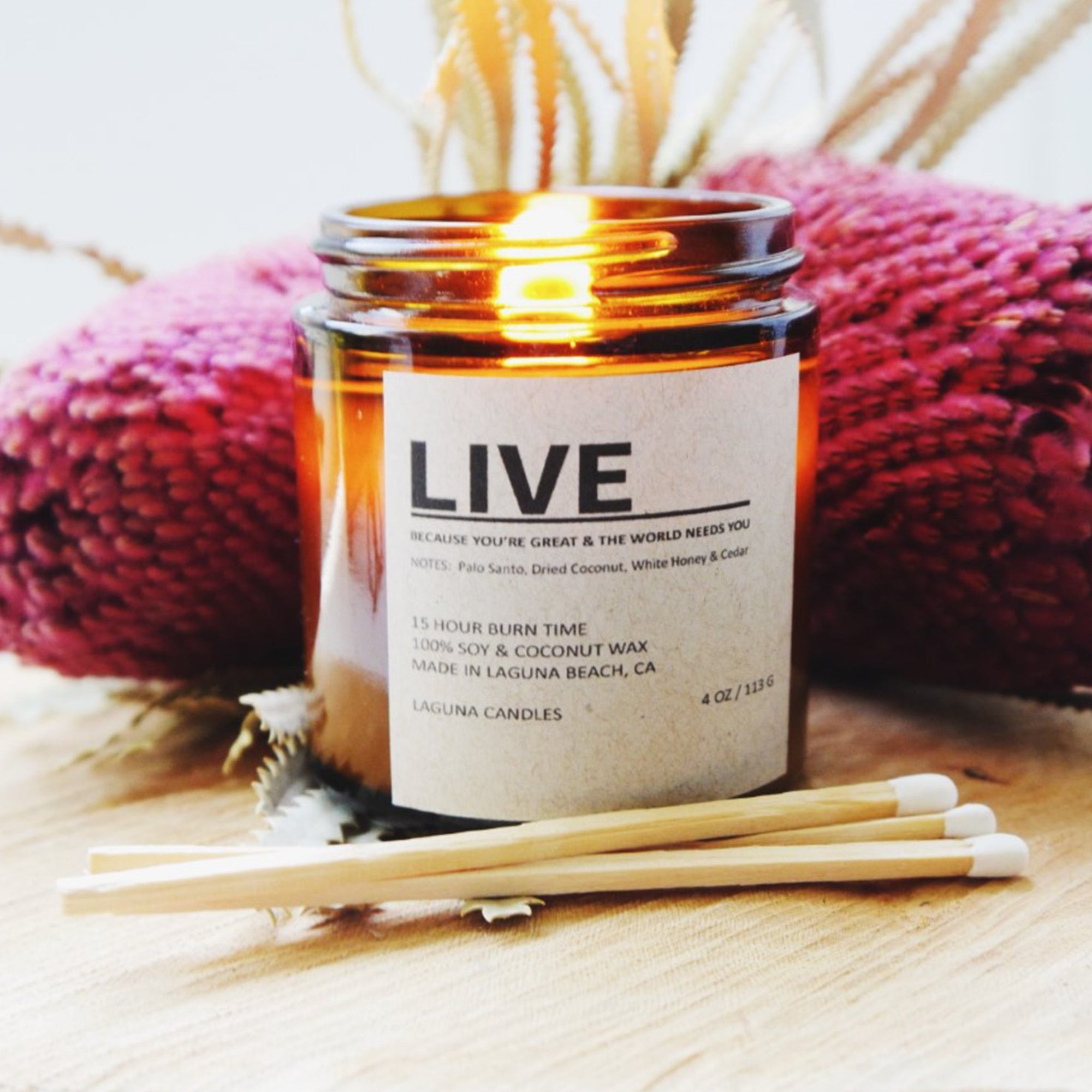 Live Candle
