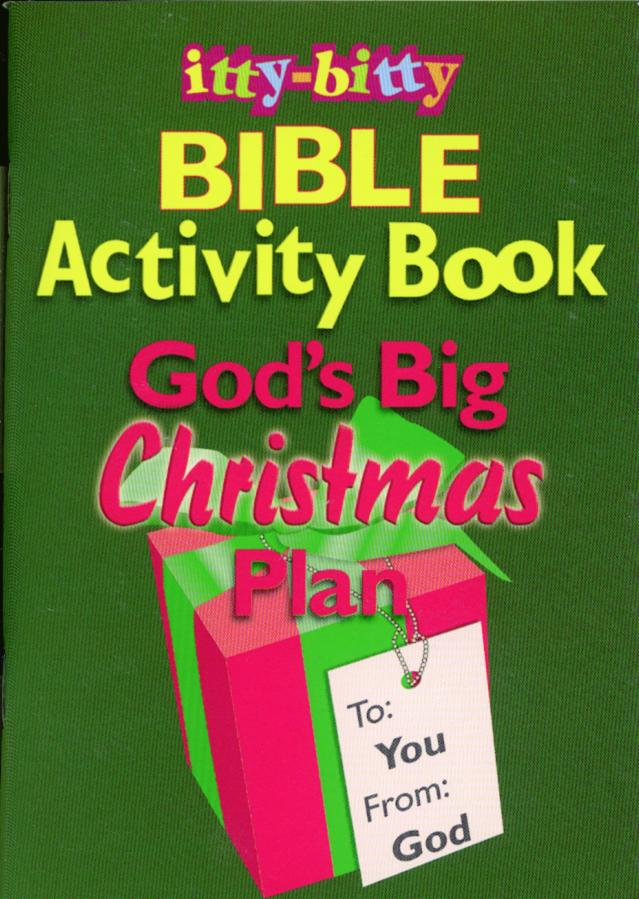 Itty-Bitty Bible Activity Book: God's Big Christmas Plan