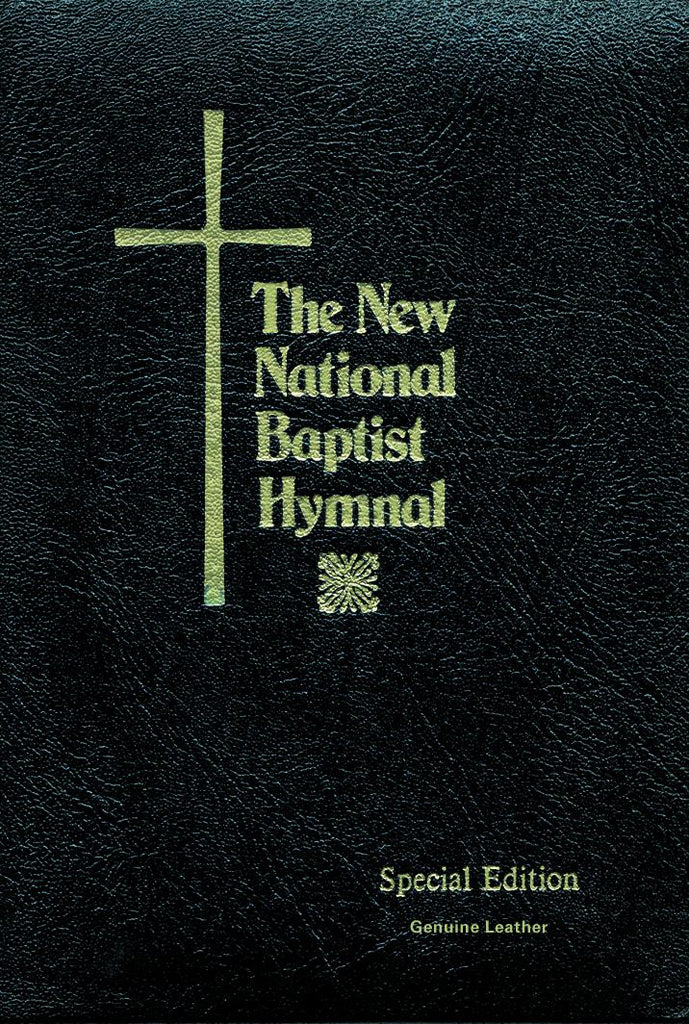 The New National Baptist Hymnal Original Verison: Black: Black Leather Pulpit Edition