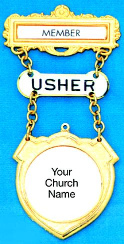 Member Usher Ribbon Badge