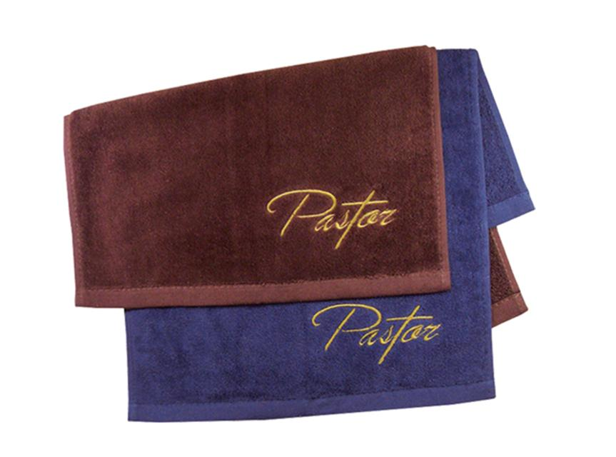 Pastor Towel: Burgundy