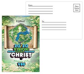 2020 VBS Postcards, Pack of 50