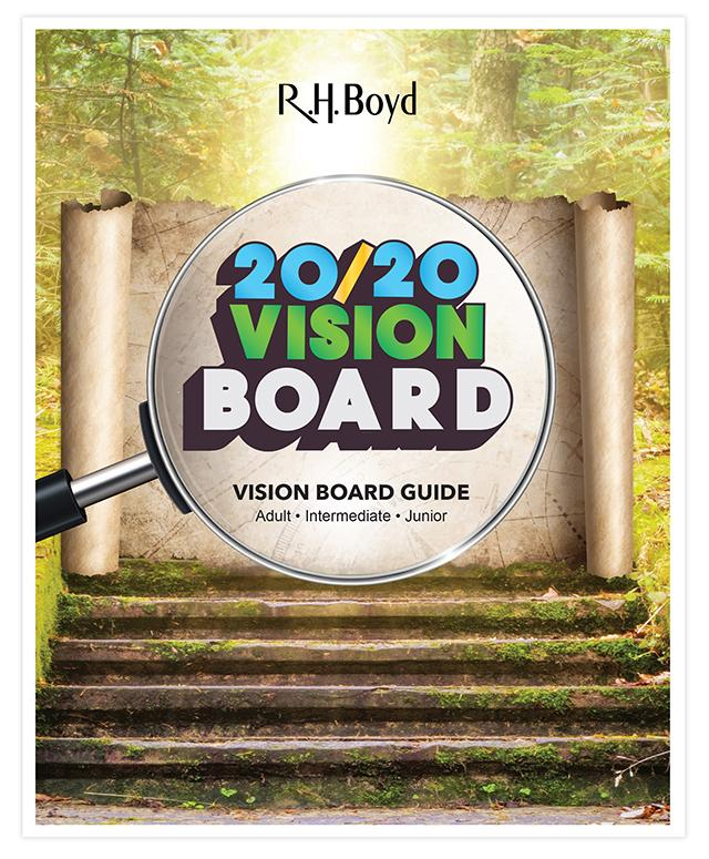 2020 VBS Vision Board guide