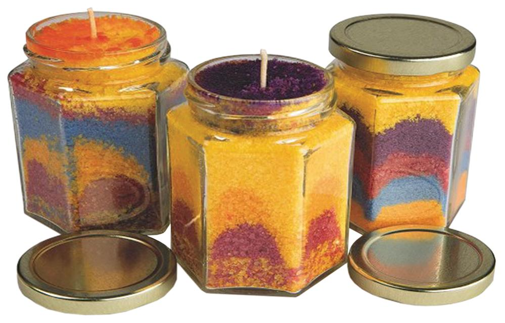 Wax Art Candle Craft Kit 12/pk.: Vacation Bible School Craft Kit