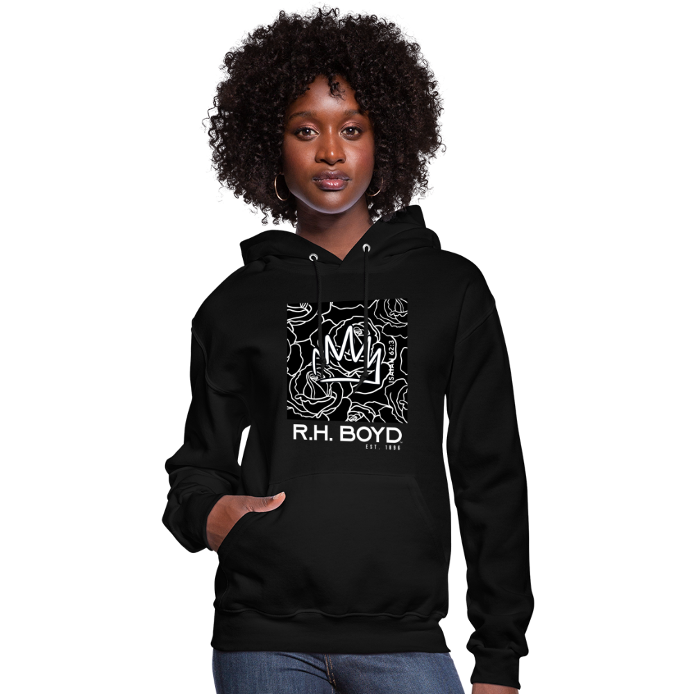 GRAPHIC LINE  – Black/Multi – Women's Hoodie - black
