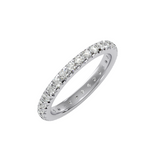 EcoMoissanite 1.04 CTW Round Colorless Moissanite Eternity Ring