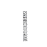 EcoMoissanite 1.93 CTW Princess Colorless Moissanite Eternity Ring