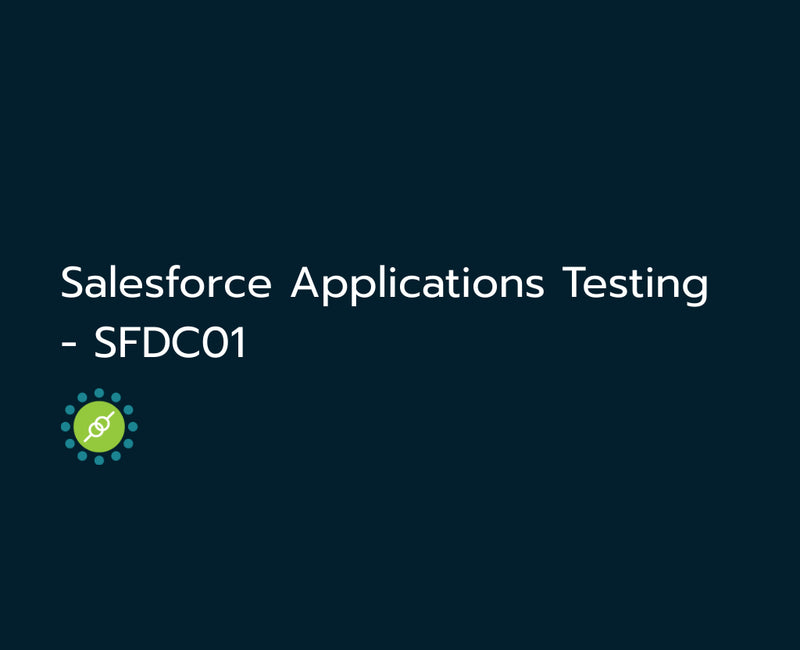 Salesforce Applications Testing(web) - SFDC01