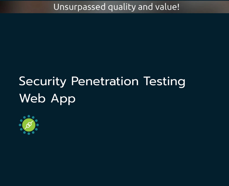 Security Testing - Web Application