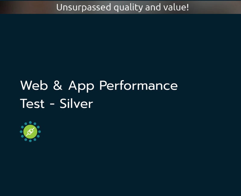 Web & App Performance Test - Silver