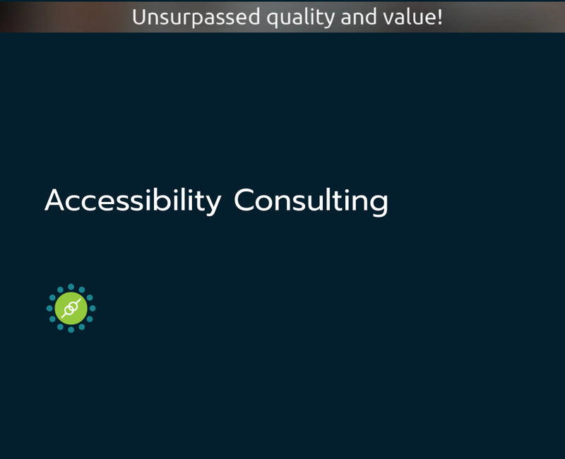 Accessibility Consulting
