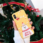 Christmas Cartoon Case for iphone X, 6, 6s, 7, 8 Plus