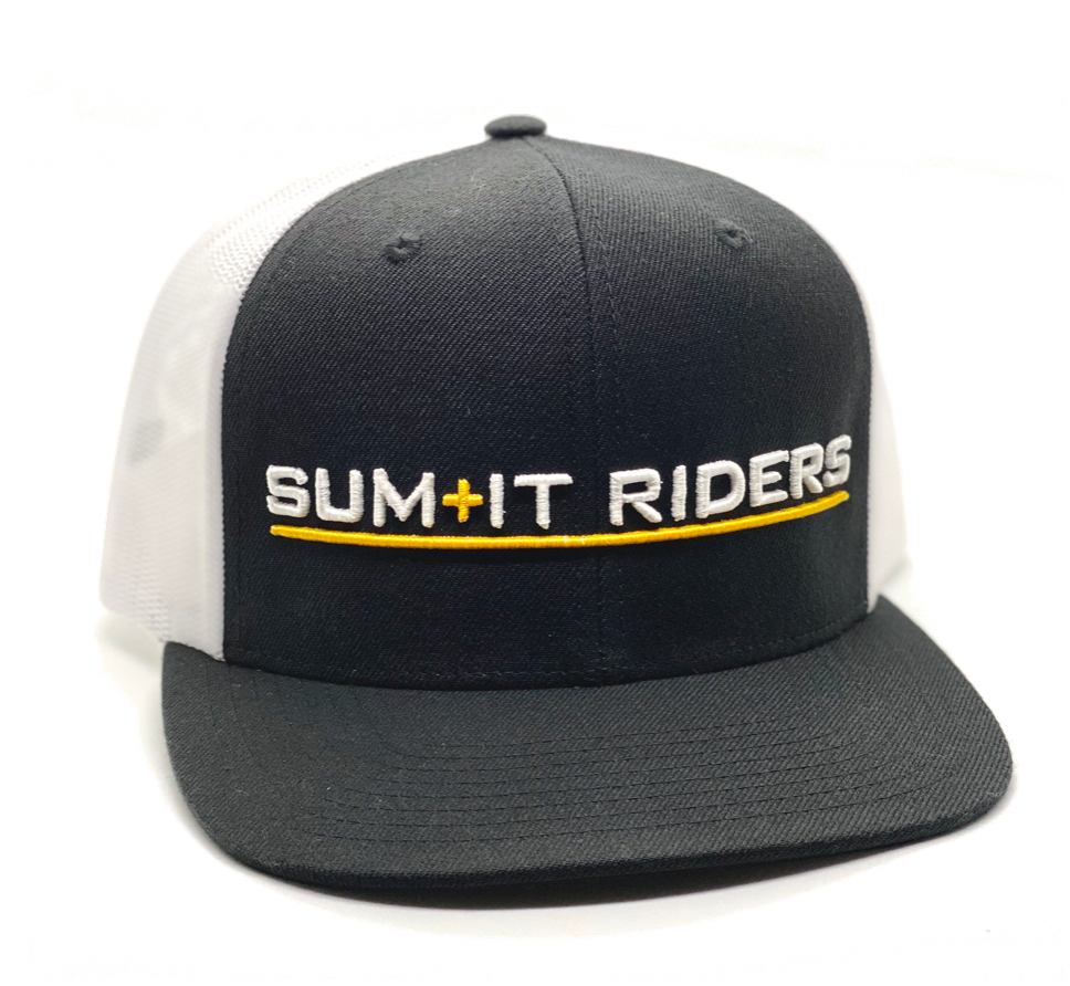 Black & White Trucker
