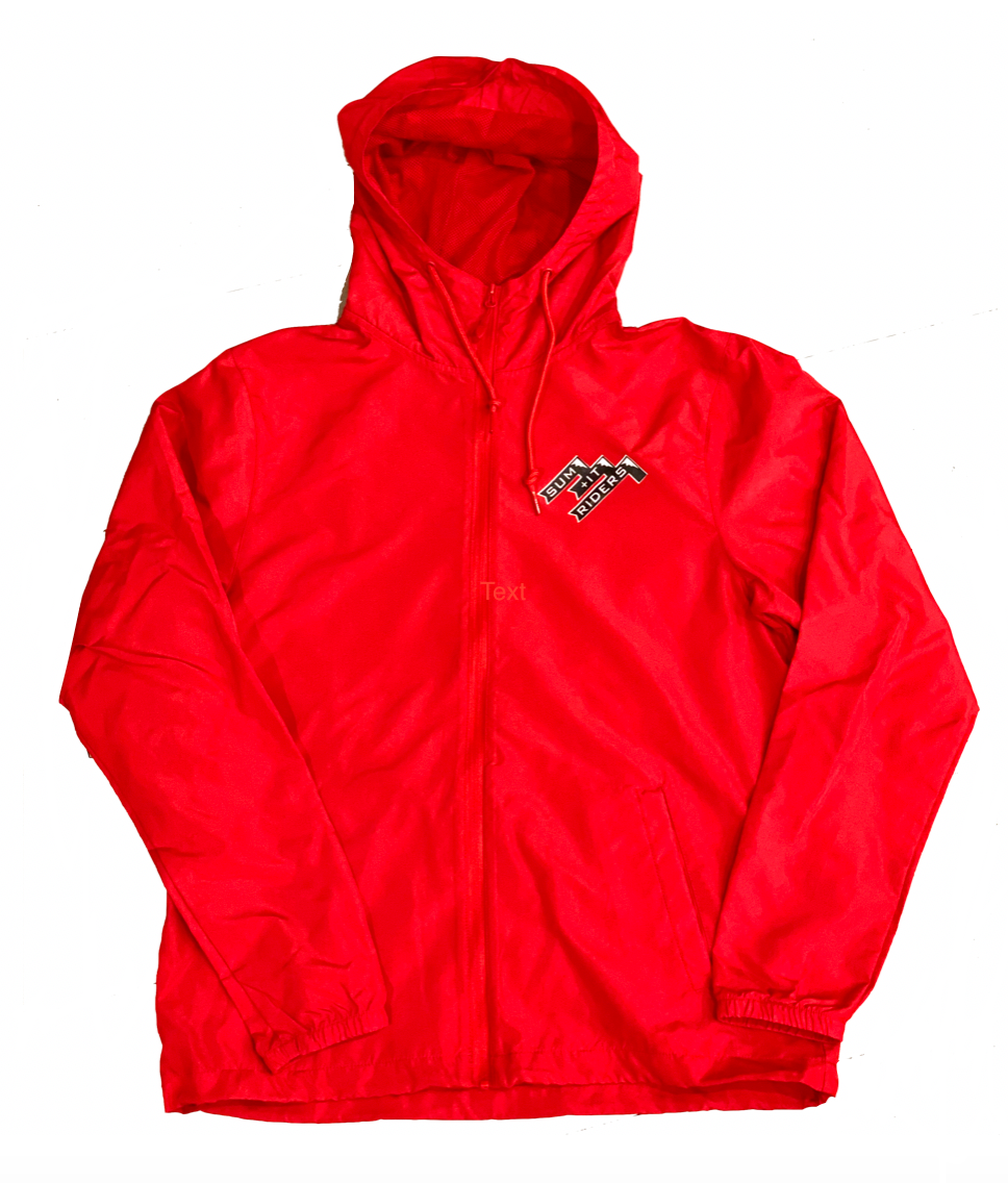 Lava Red Windbreaker