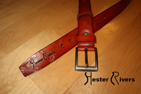 Hester Rivers Tan Leather Belt