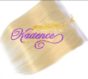 Straight Platinum Blond 613 13x4 frontal