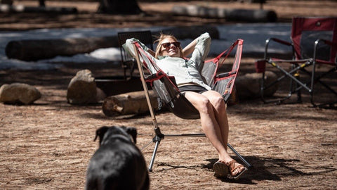 Reclining Luxurious Camping Chair | Campsite Chair