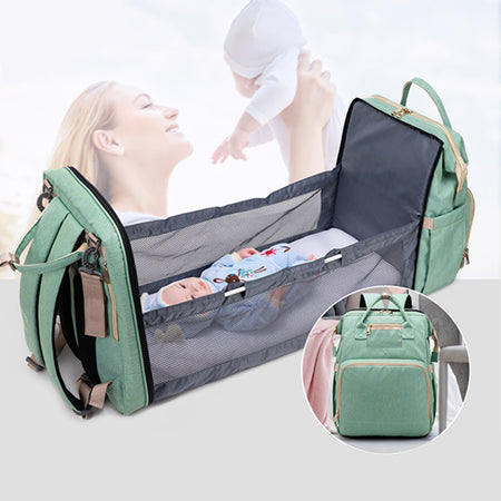 Mommy Bed Backpack | Multifunctional Travel Bag