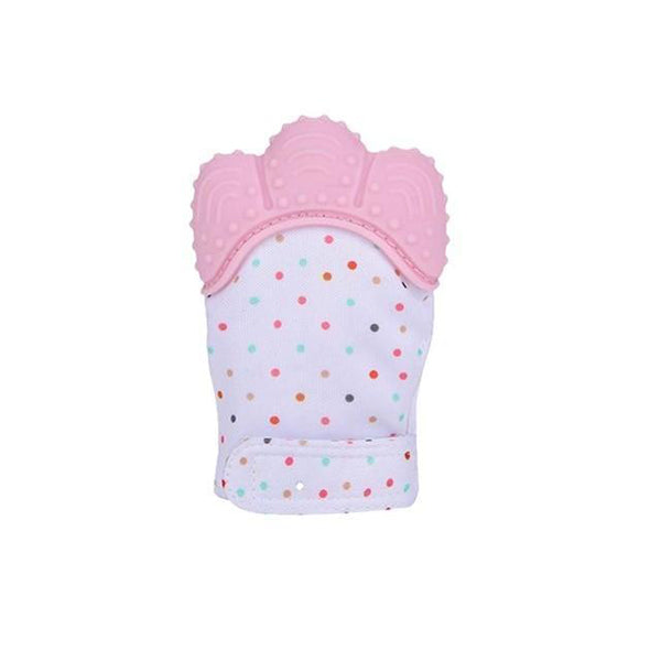 Baby Teething Mittens | Teether Mitten