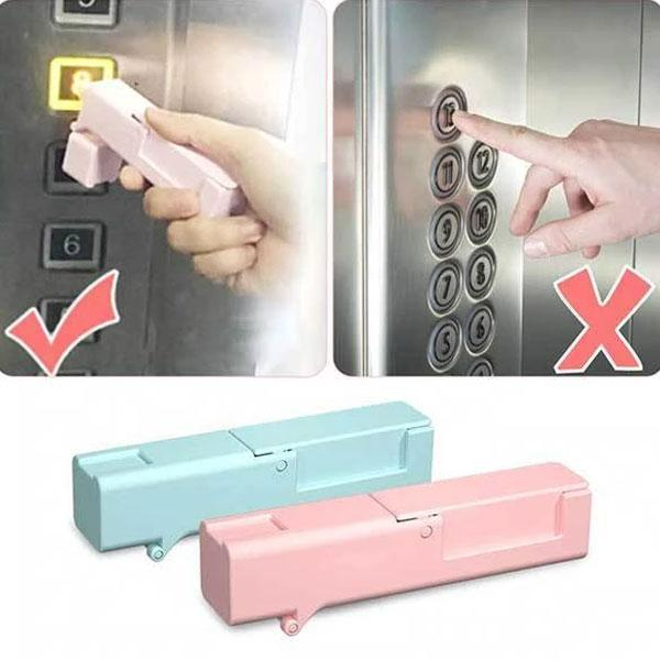 Self-Sterilising Door Handle Opener Elevator | Presser Stick
