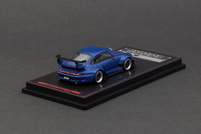 Porsche 993 RWB in Blue Metallic