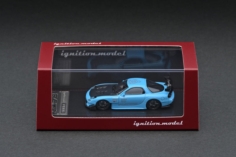 Mazda RX-7 FD3S RE Amemiya Light Blue