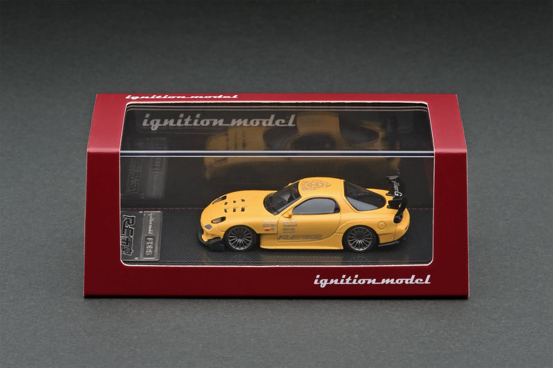 Mazda RX-7 FD3S RE Amemiya Matte Yellow