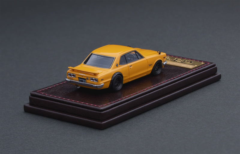Nissan Skyline 2000 GT-R (KPGC10) Yellow